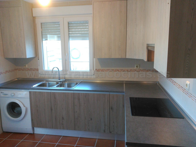 Muebles de cocina laminado franisa cocinas - Muebles cocina valladolid ...