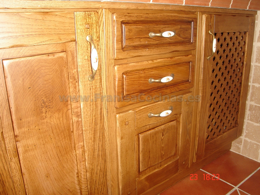 Muebles de cocina madera para merendero bodega franisa cocinas - Muebles para bodega ...