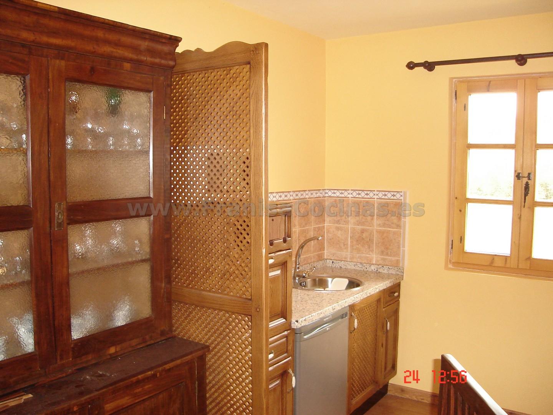 Muebles de cocina madera rústica – FRANISA Cocinas
